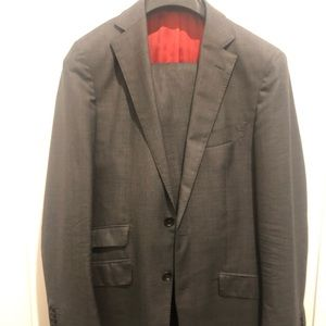 Suitsupply Grey wool super 150s suit
